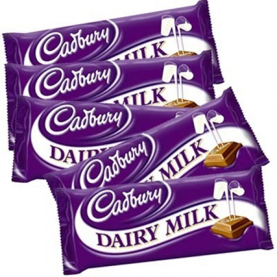 5pc Dairy Milk Chocolate 13gms each