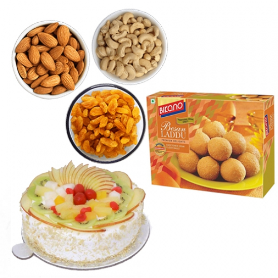 Cake & Dry Fruits & Sweets