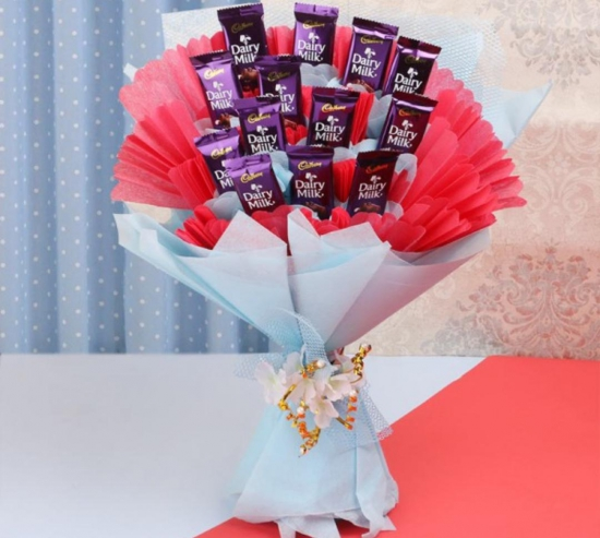 Bouquet of Dairy Milk Chocolate