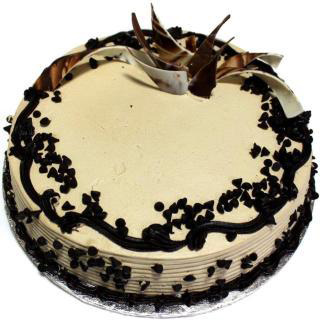Choco Chip Cream Cake flowers delivery in Choco Chip Cream Cake