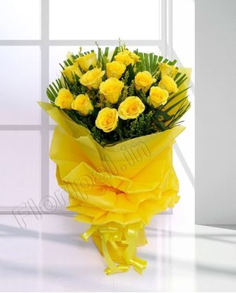 Send yellow roses