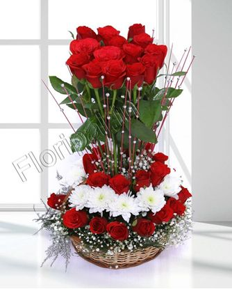 roses-round-basket-delivery