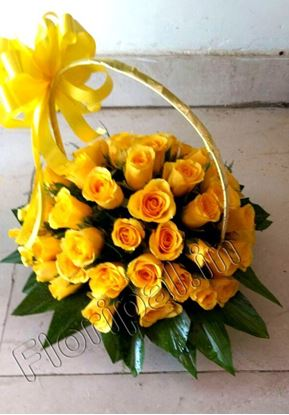 50 Yellow Roses