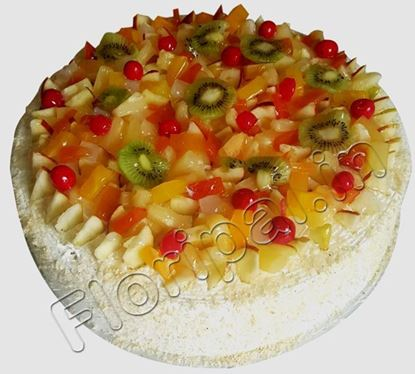Fresh Fruit Cake To Delhi