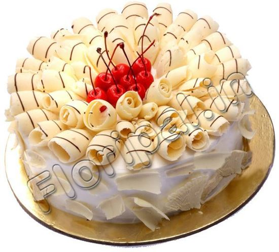 Send White Forest Cake Online Delivery Delhi