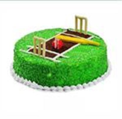1Kg Cricket Pitch Cake