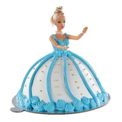 Adorable Barbie Cake 2Kg