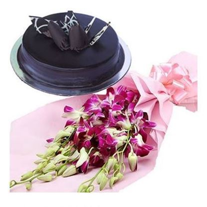 orchids with Cake