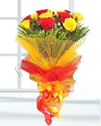 Red Yellow Roses