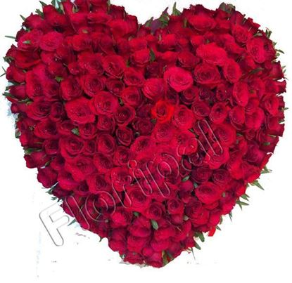 Send Heart of Red Roses