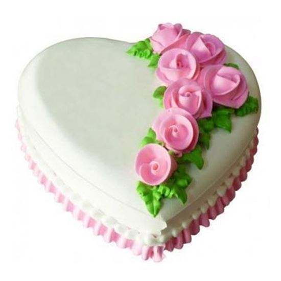 0020769 1kg Heart Shape Pineapple Cake 550jpeg