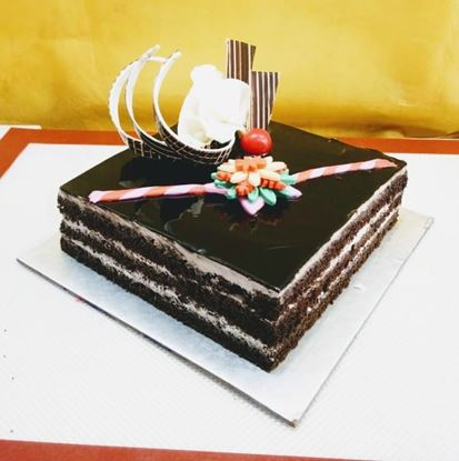 Sibling Special Square Chocolate Cake